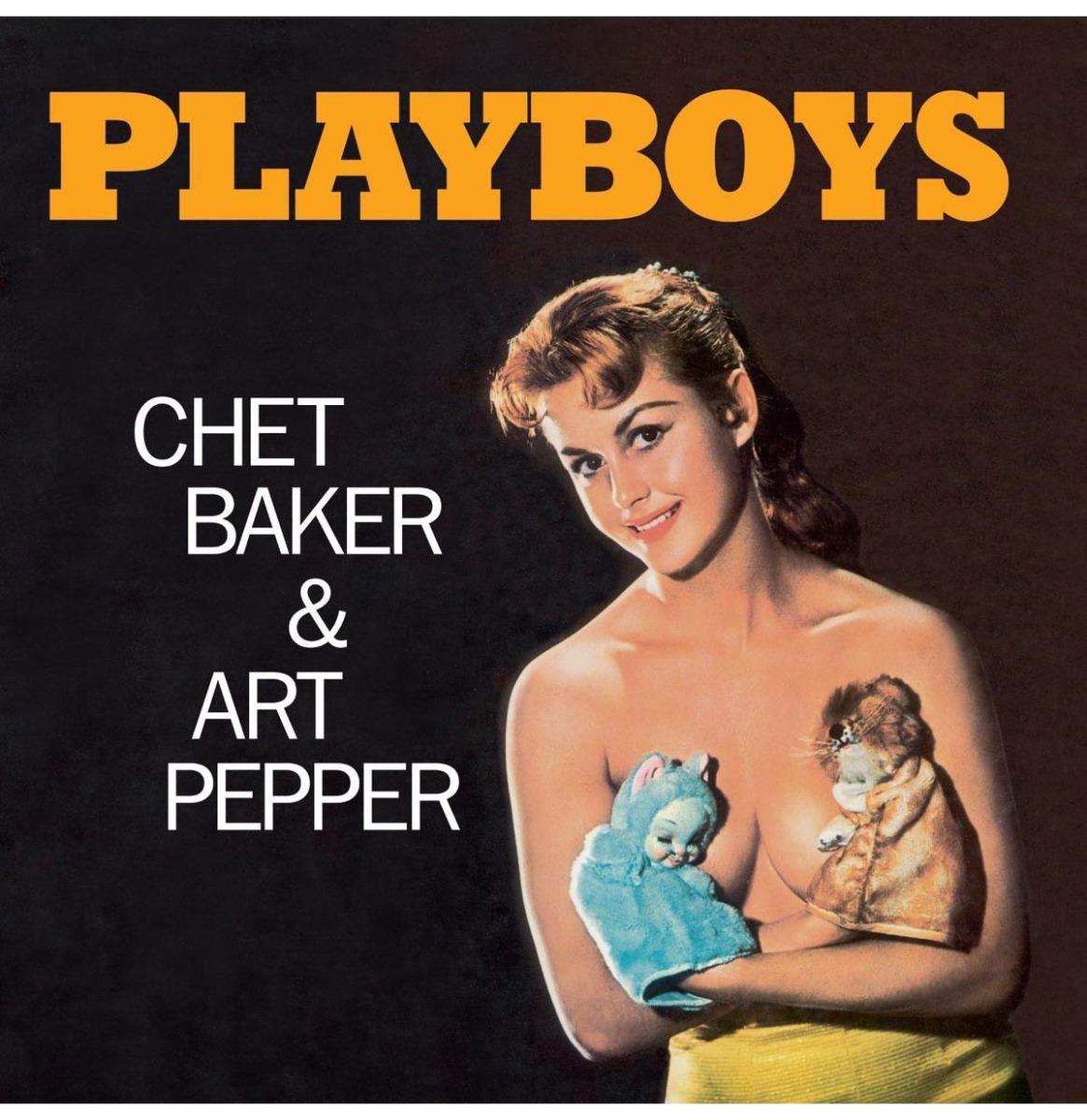 Chet Baker & Art Pepper - Playboys (Gekleurd Vinyl) LP