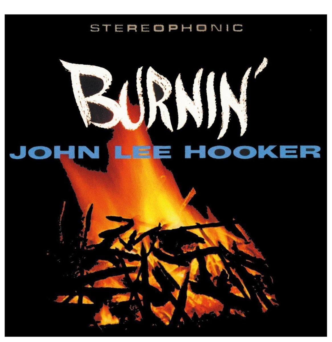 John Lee Hooker - Burnin' LP - Beperkte Oplage