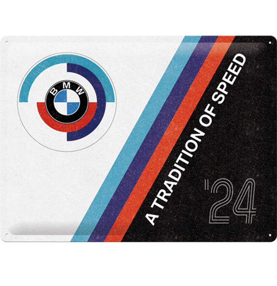 Tin Signs 30 x 40 cm BMW Motorsport - Tradition Of Speed