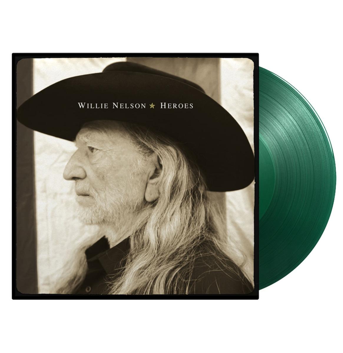 Willie Nelson - Heroes LP - Beperkte Oplage