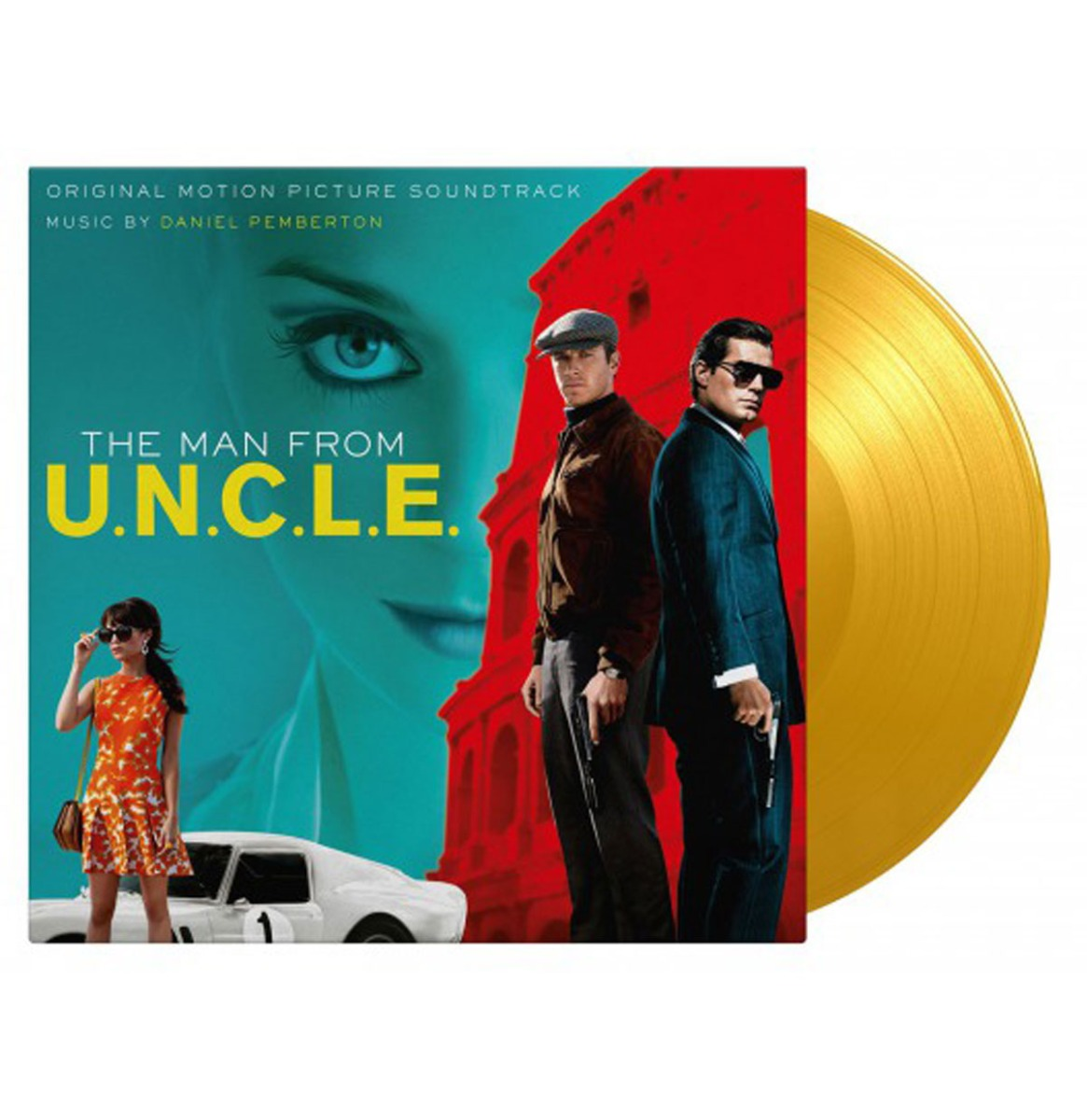 Original Soundtrack - The Man From U.N.C.L.E. (Daniel Pemberton) Gekleurd Vinyl 2LP