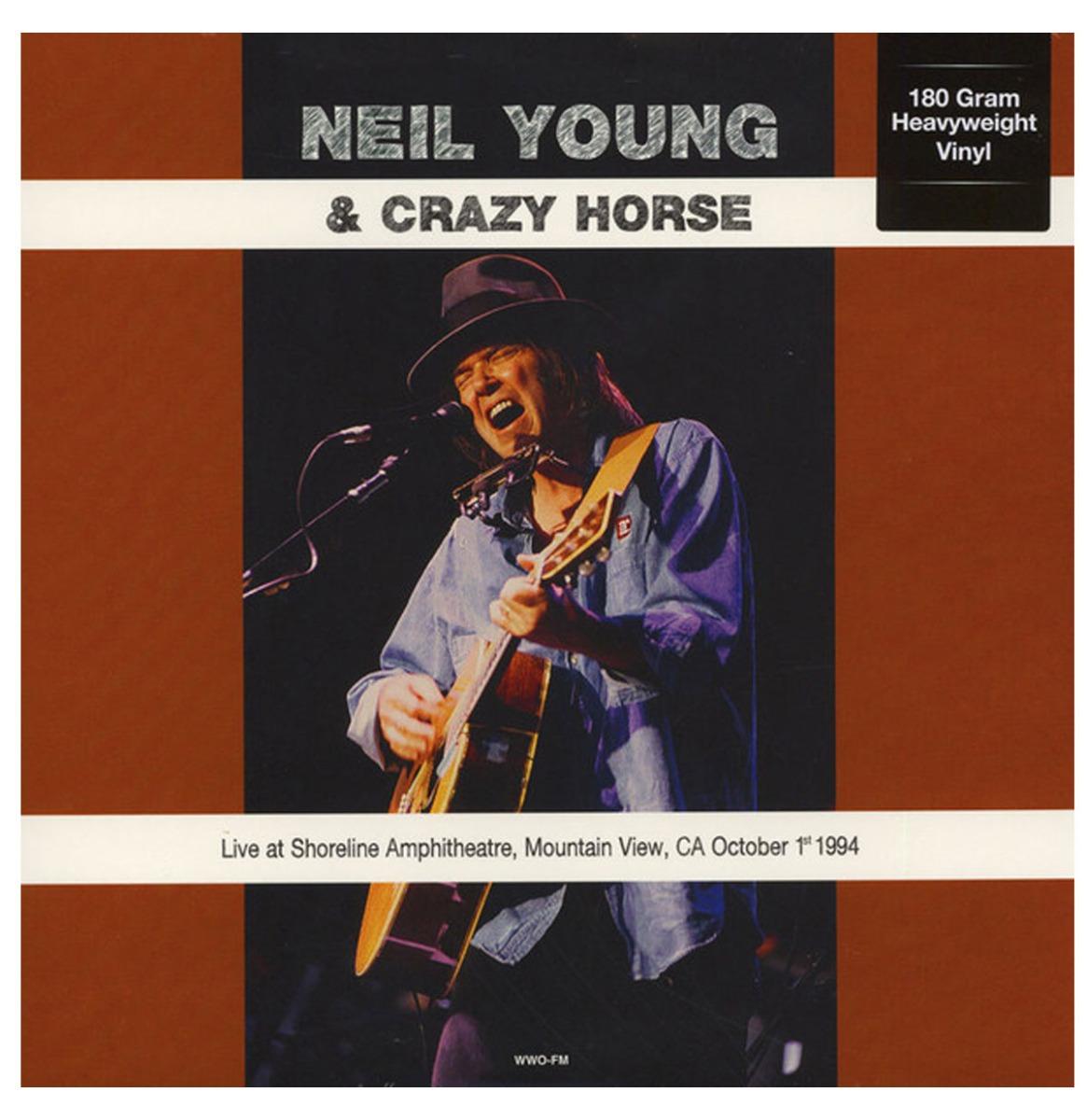Neil Young & Crazy Horse - Live At Shoreline Amphitheatre, Mountain View, CA October 1st 1994 LP