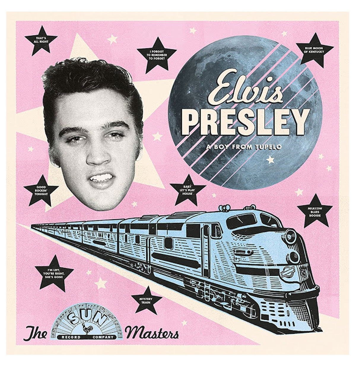 Elvis Presley - A Boy From Tupelo: The Sun Masters LP