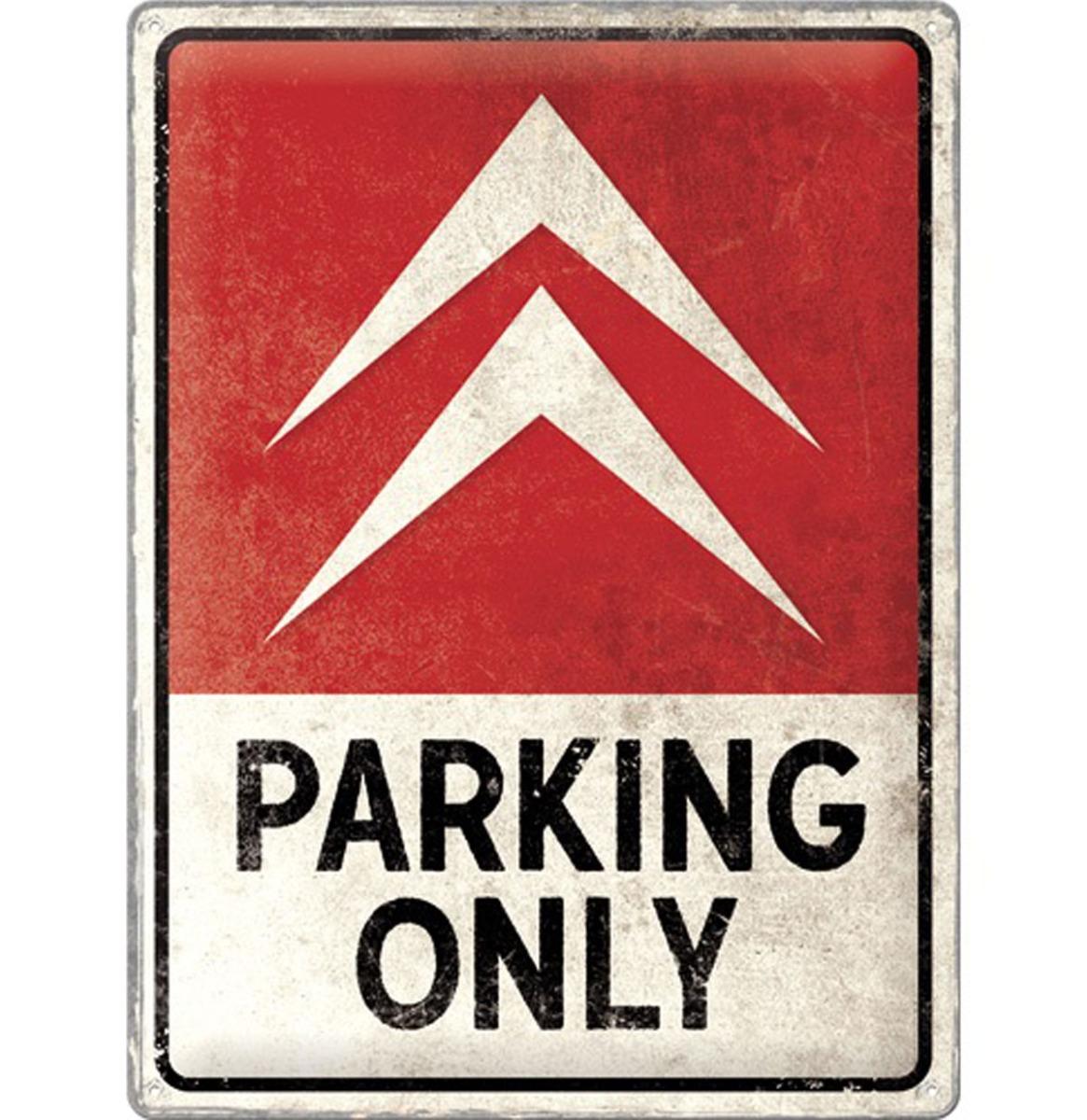 Tin Signs 30 x 40 cm Citroen - Parking Only
