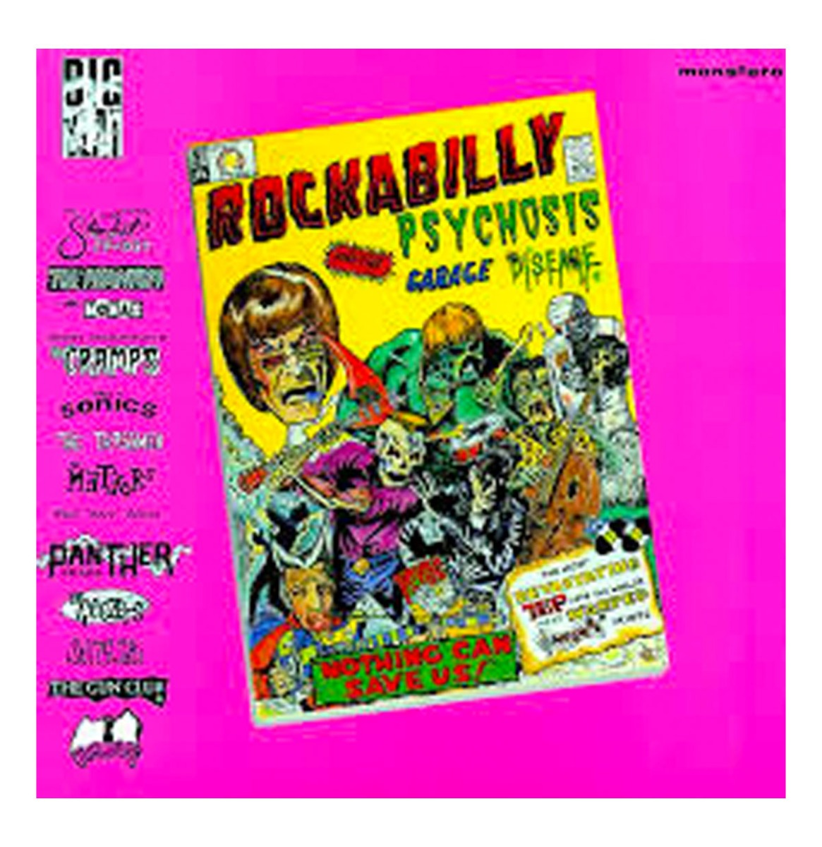 Various Artists - Rockabilly Psychosis and The Garage Disease LP
