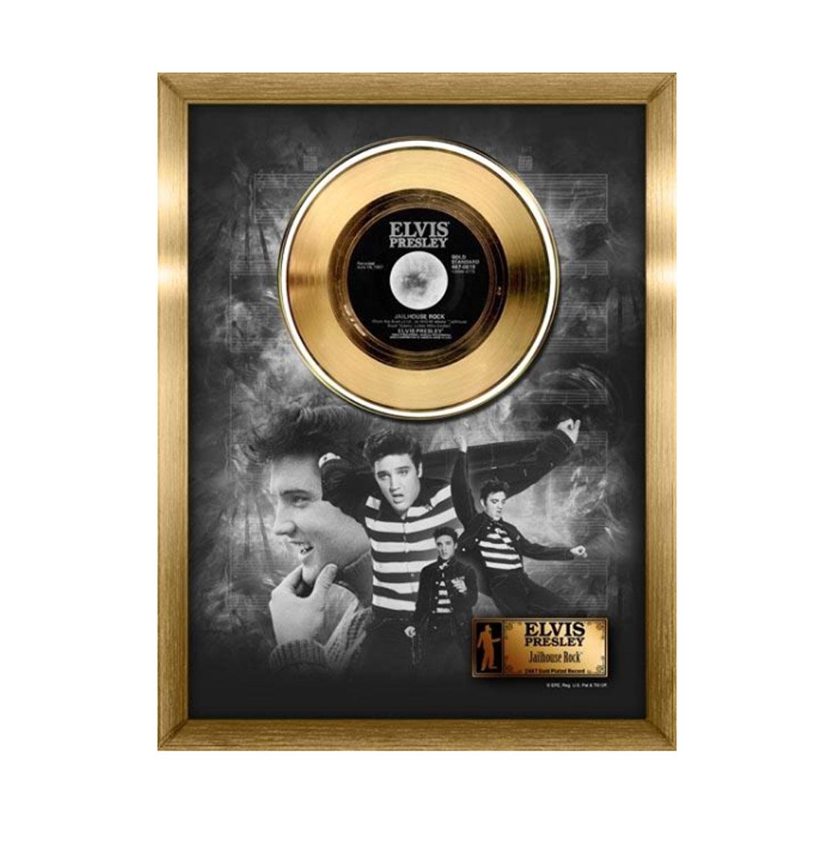 Elvis Presley Jailhouse Rock Gouden plaat