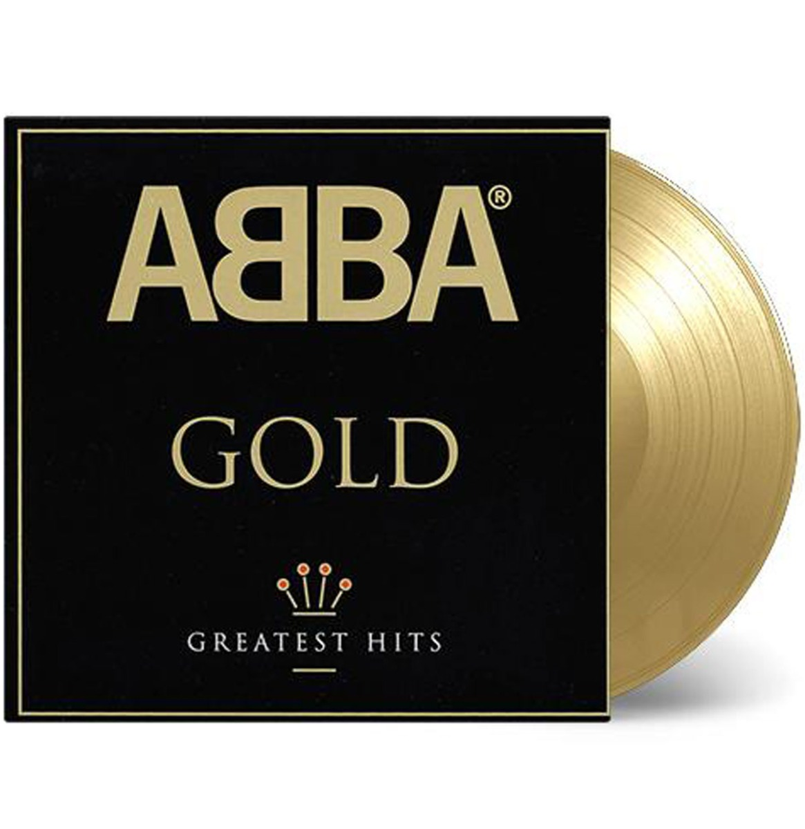 ABBA - Gold Greatest Hits Gelimiteerd Goud Vinyl 2LP