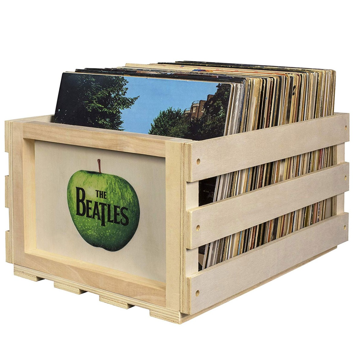 Crosley Vinyl Opslagkrat - The Beatles Appel-logo
