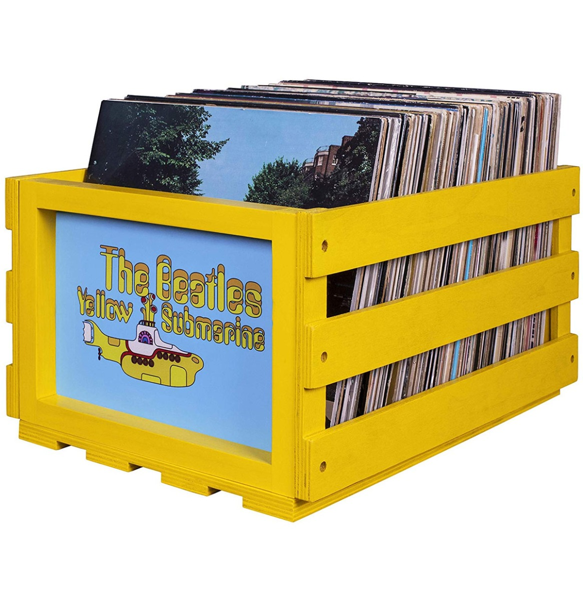 Crosley Vinyl Opslagkrat - The Beatles Yellow Submarine