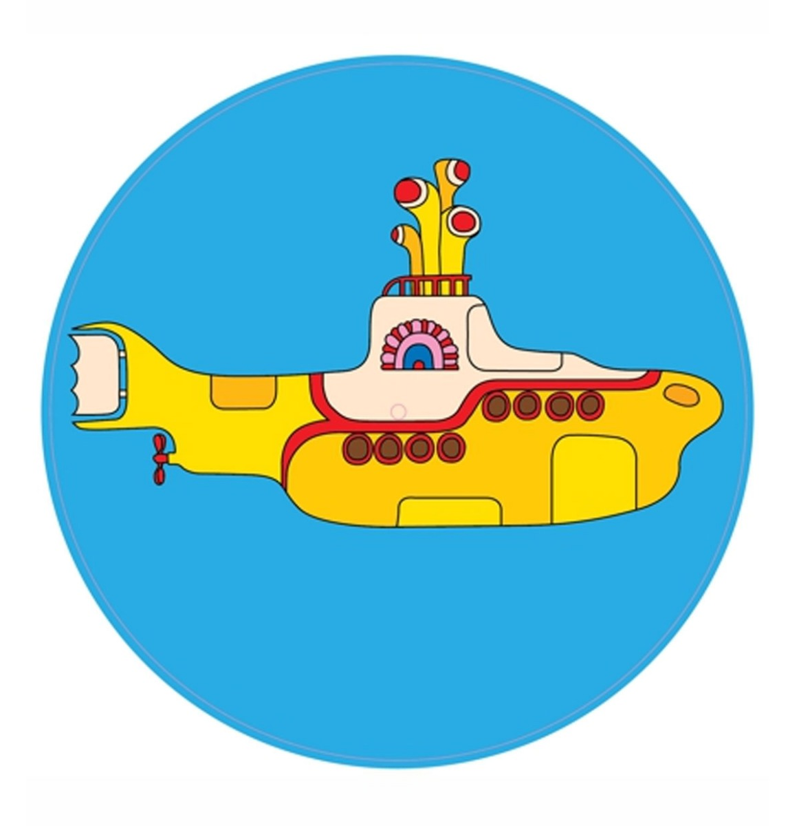 Crosley Slipmat The Beatles Yellow Submarine Vilt