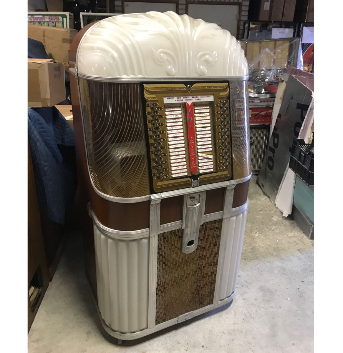 Ami B Jukebox 1948-49 - Origineel