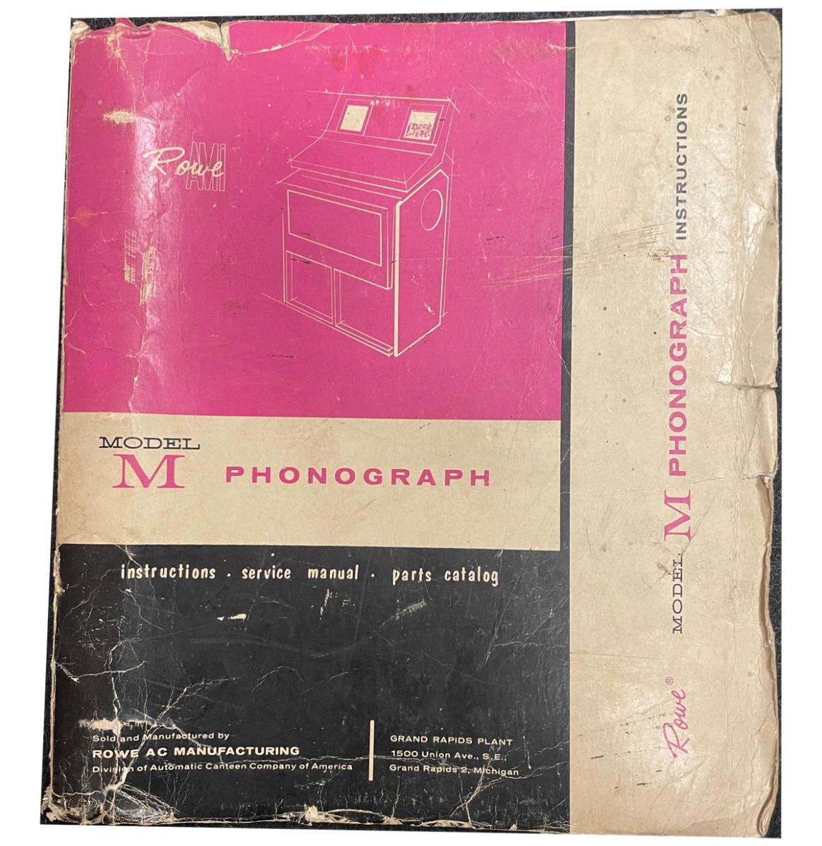 Rowe Ami M Manual Origineel