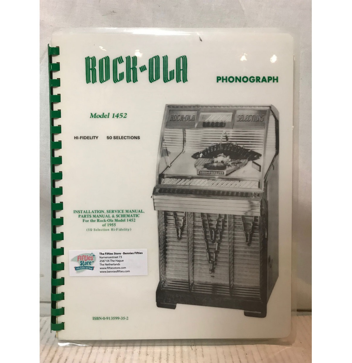 Rock-Ola 1452 Jukebox Service Manual