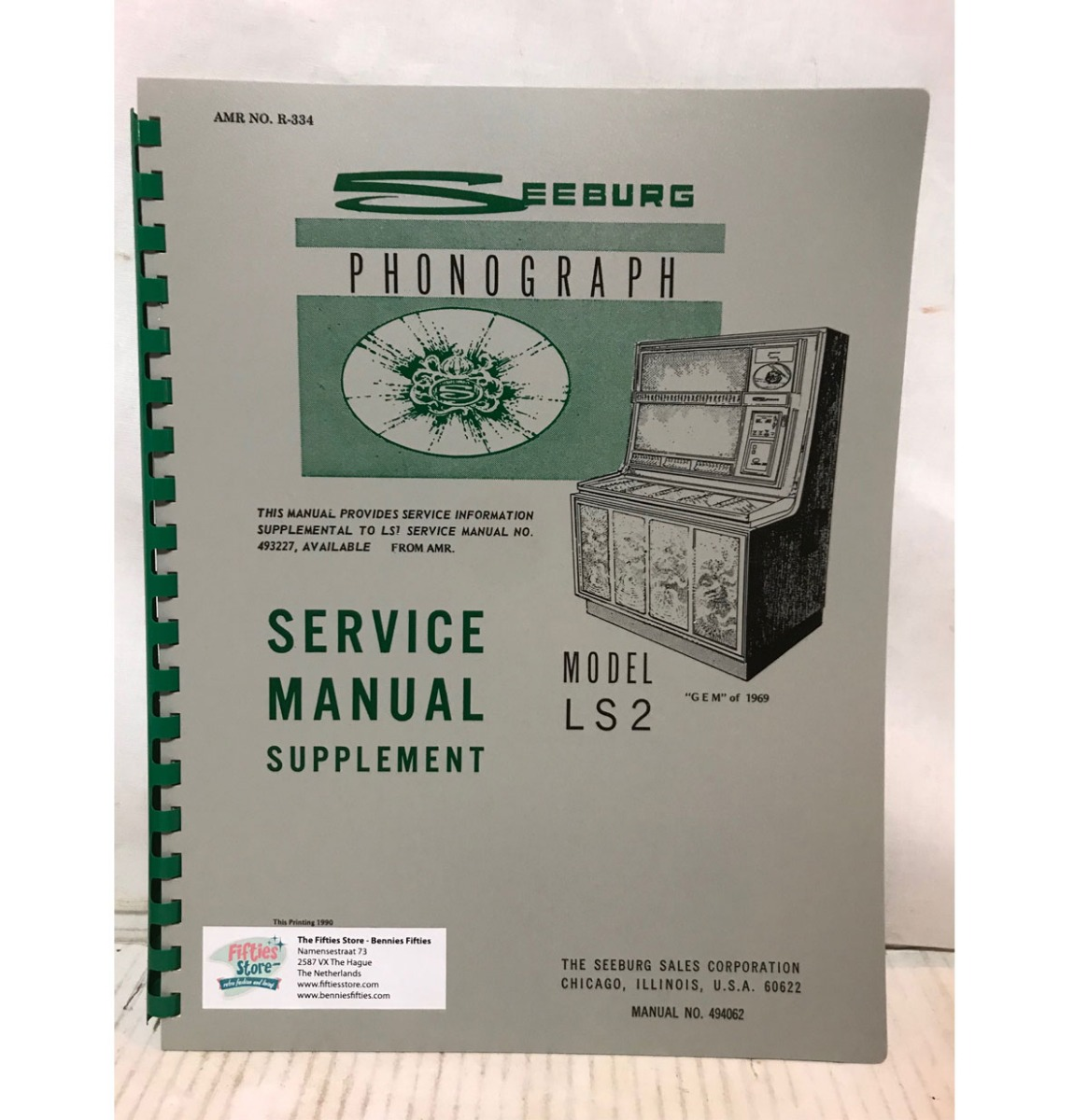 Seeburg Model LS2 Jukebox Service Manual Supplement