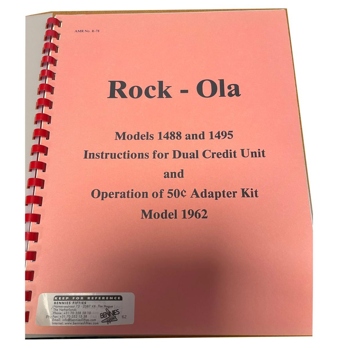 Rock-Ola 1488 En 1495 Instructies Voor Dubbel Krediet