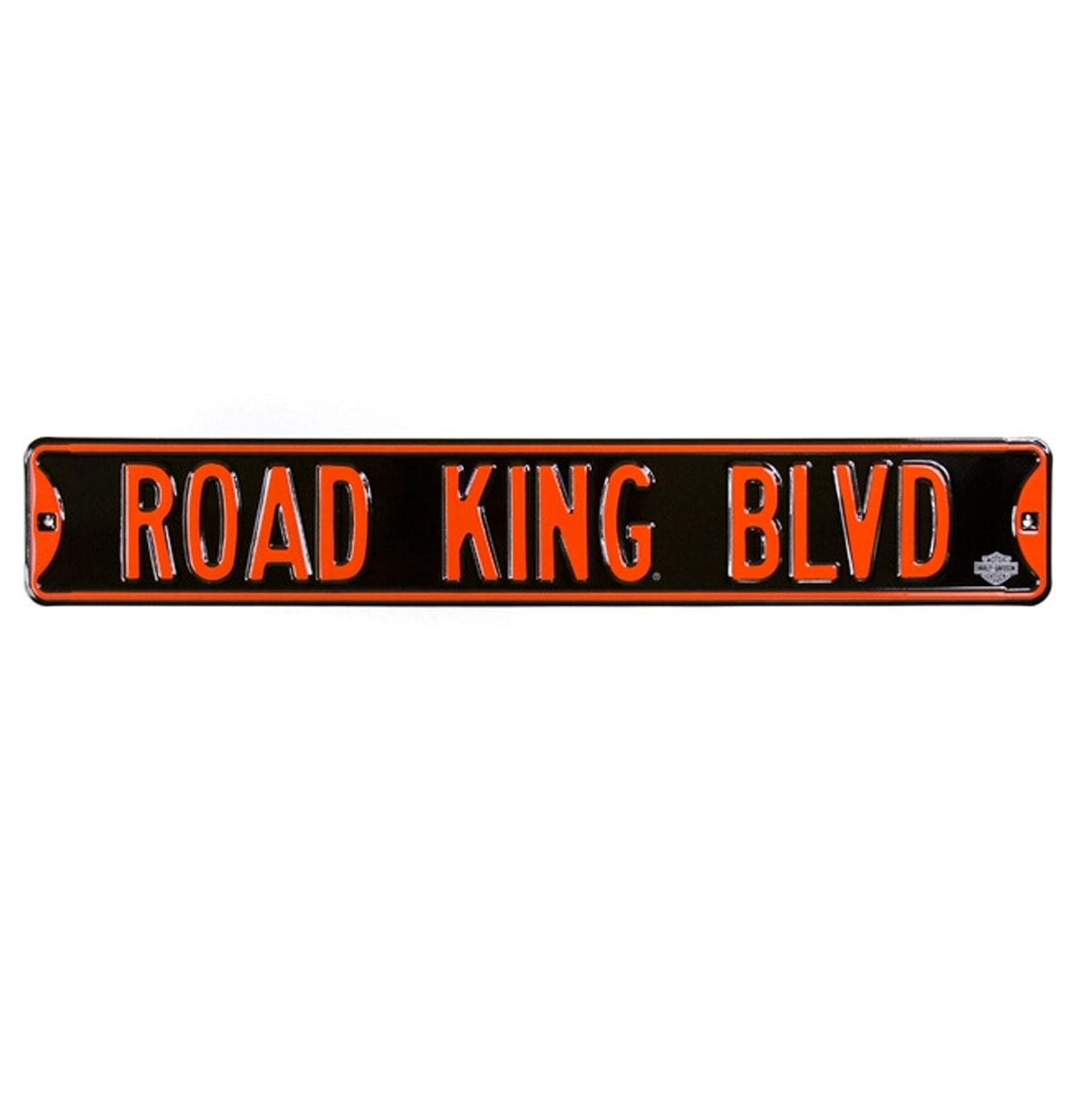 Harley-Davidson Road King Blvd Straat Bord