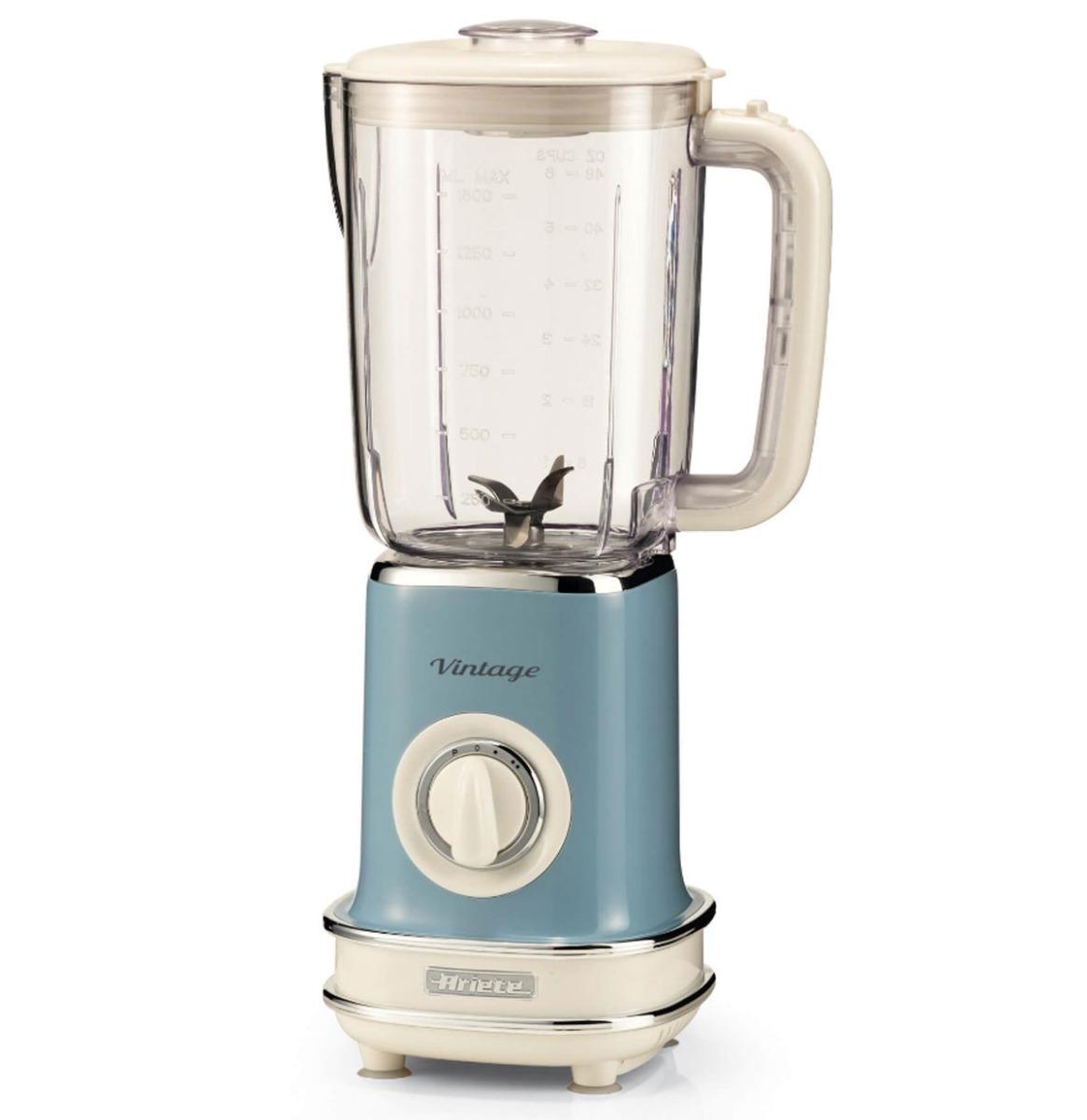 Ariete Vintage Mixer / Blender Blauw - Ruimte Besparend