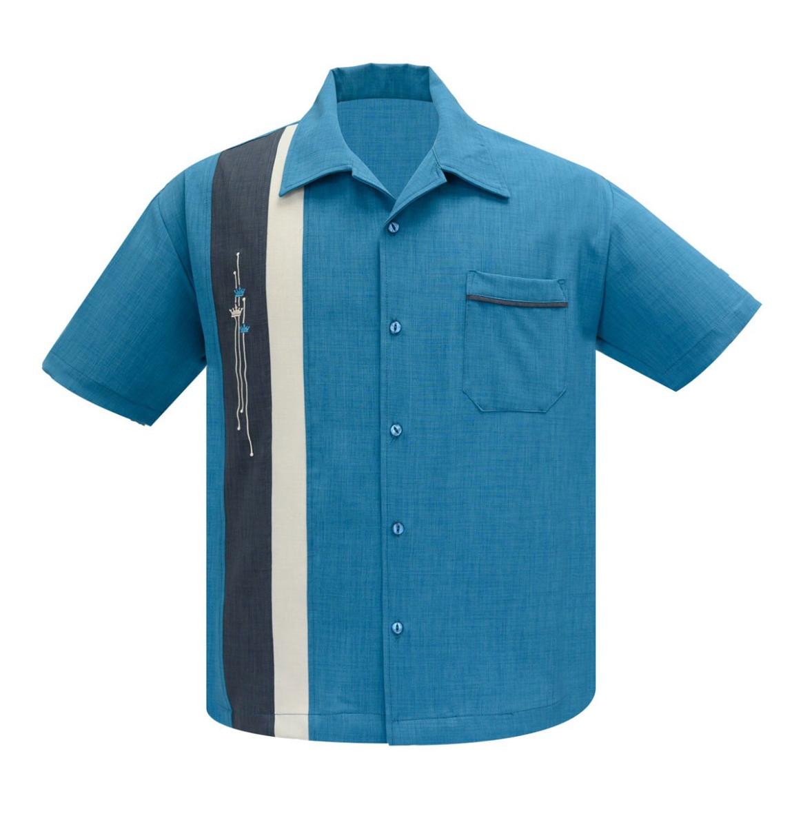 Steady Clothing The Arthur Pacific Blauw