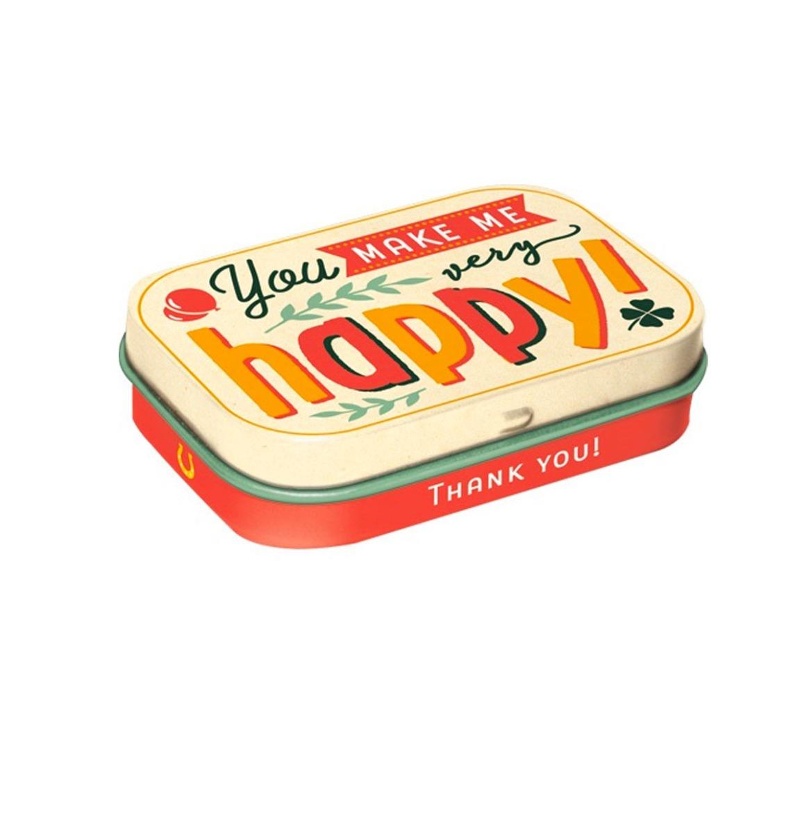 Pepermunt Blik You Make Me Happy