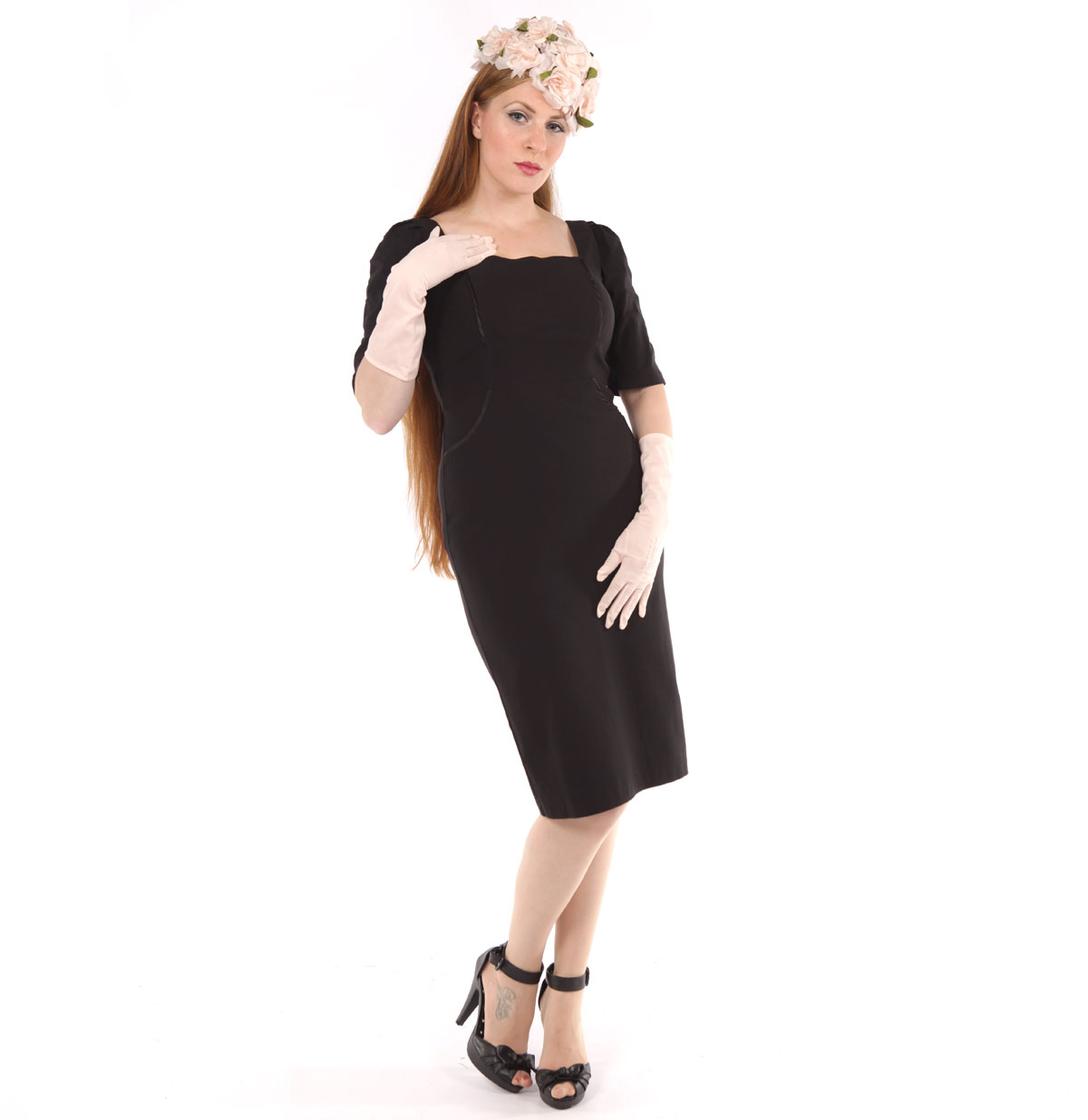 Augustina Dress Black