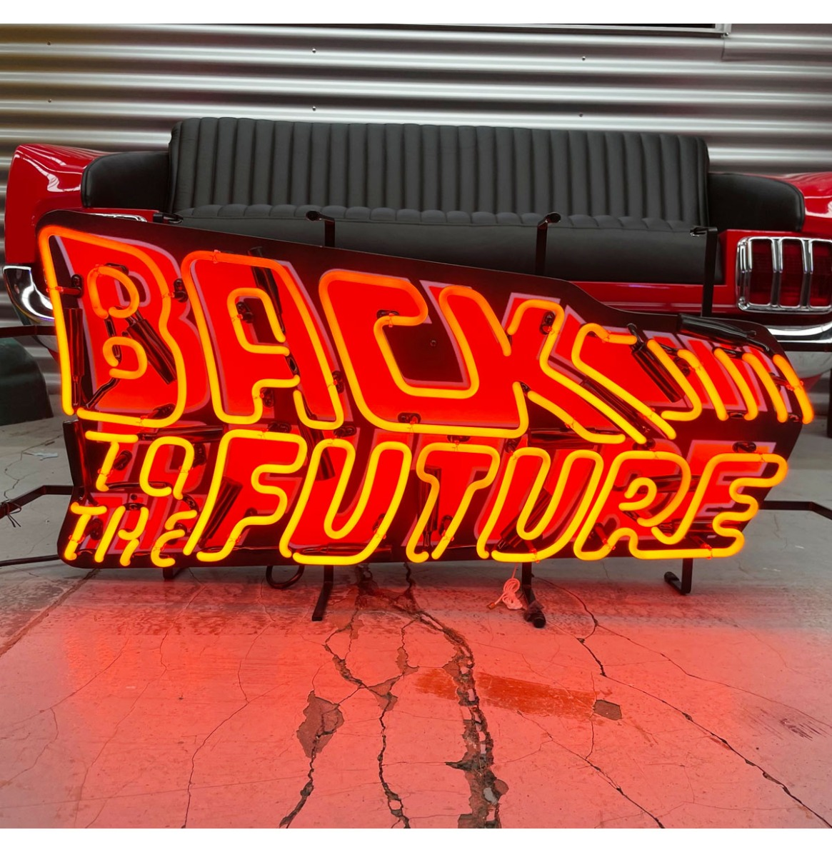 Back To The Future Neon Verlichting 80 x 39 cm