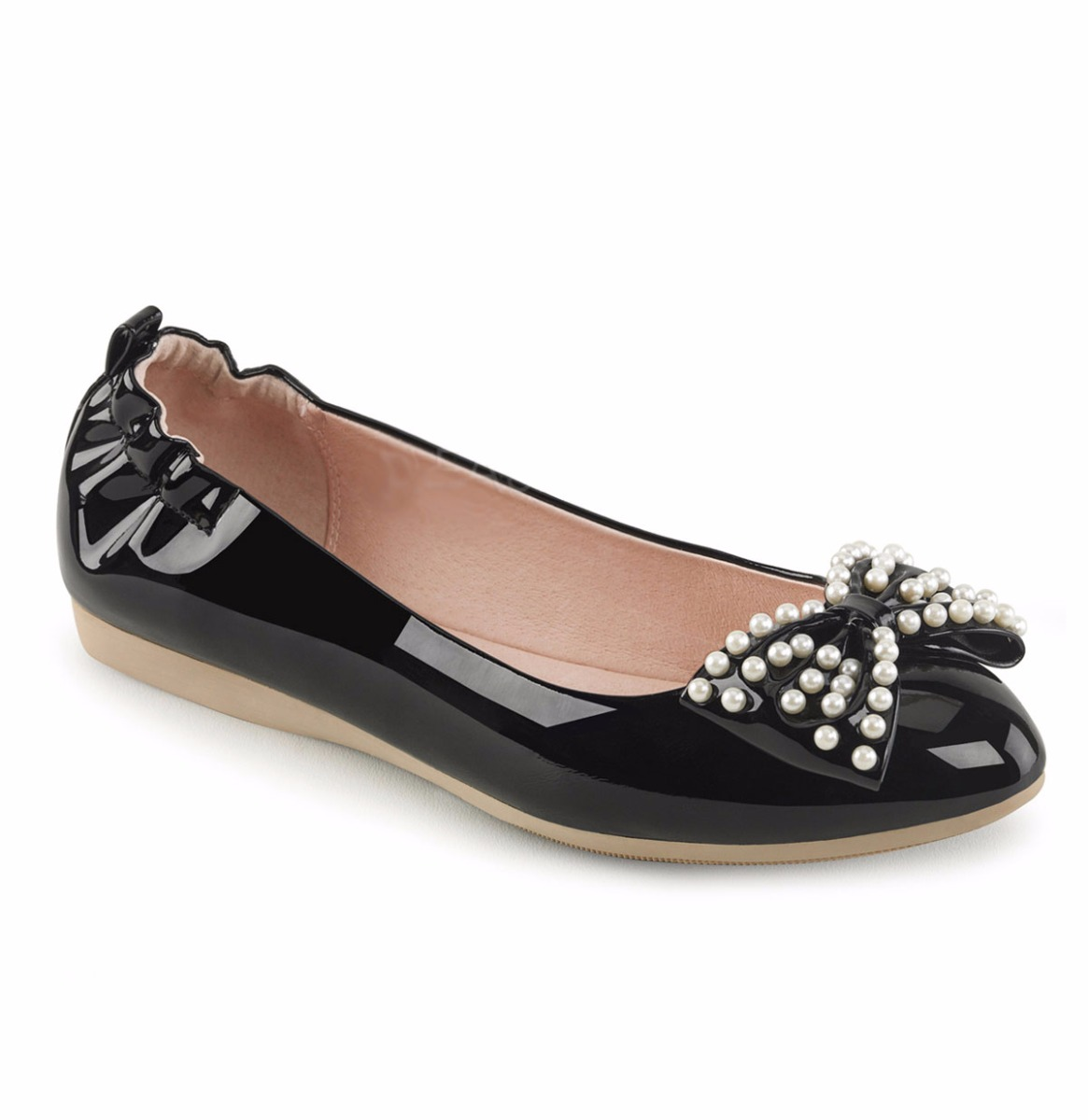 Ballet Flats Pearl Bow