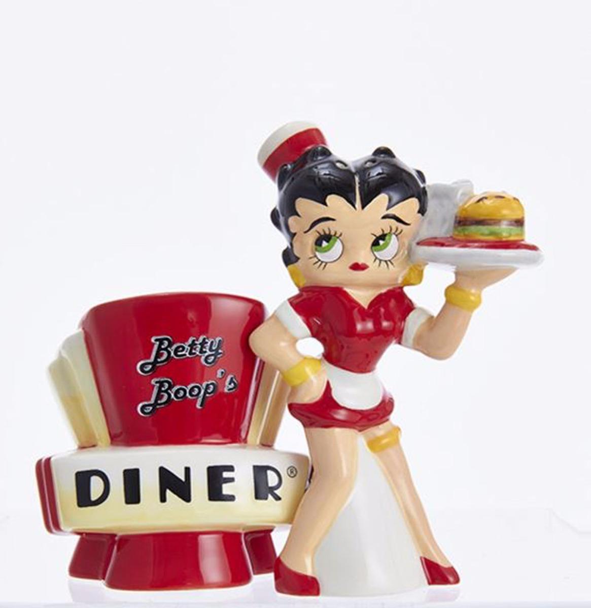 Betty Boop's Diner Peper En Zout Set