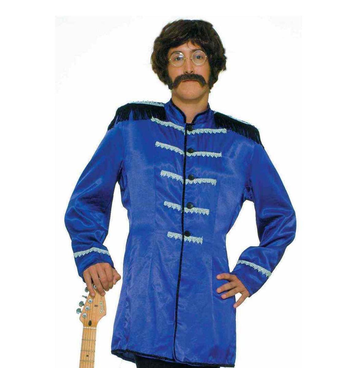 Beatles Jas Sgt Pepper Blauw