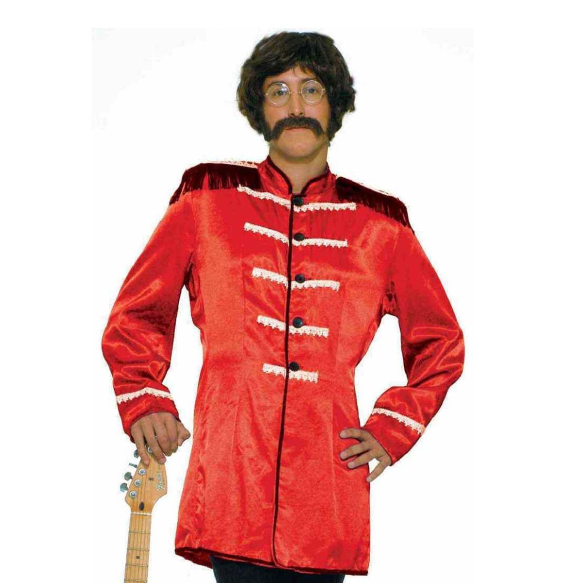 Beatles Jas Sgt Pepper Rood