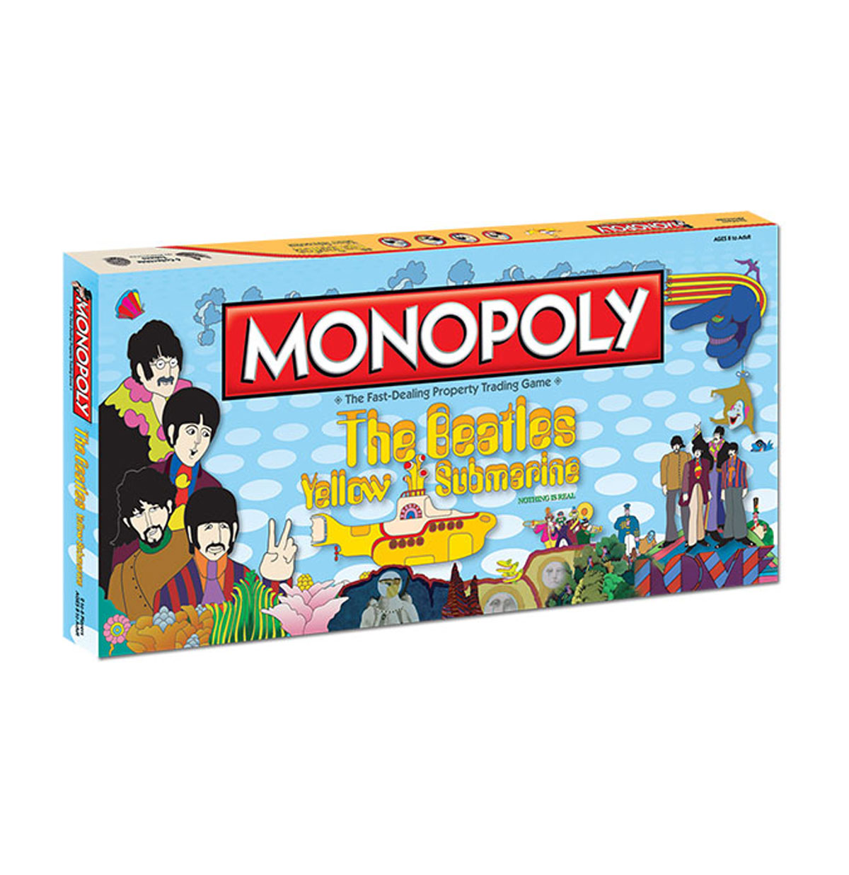 The Beatles - Yellow Submarine Monopoly - USA