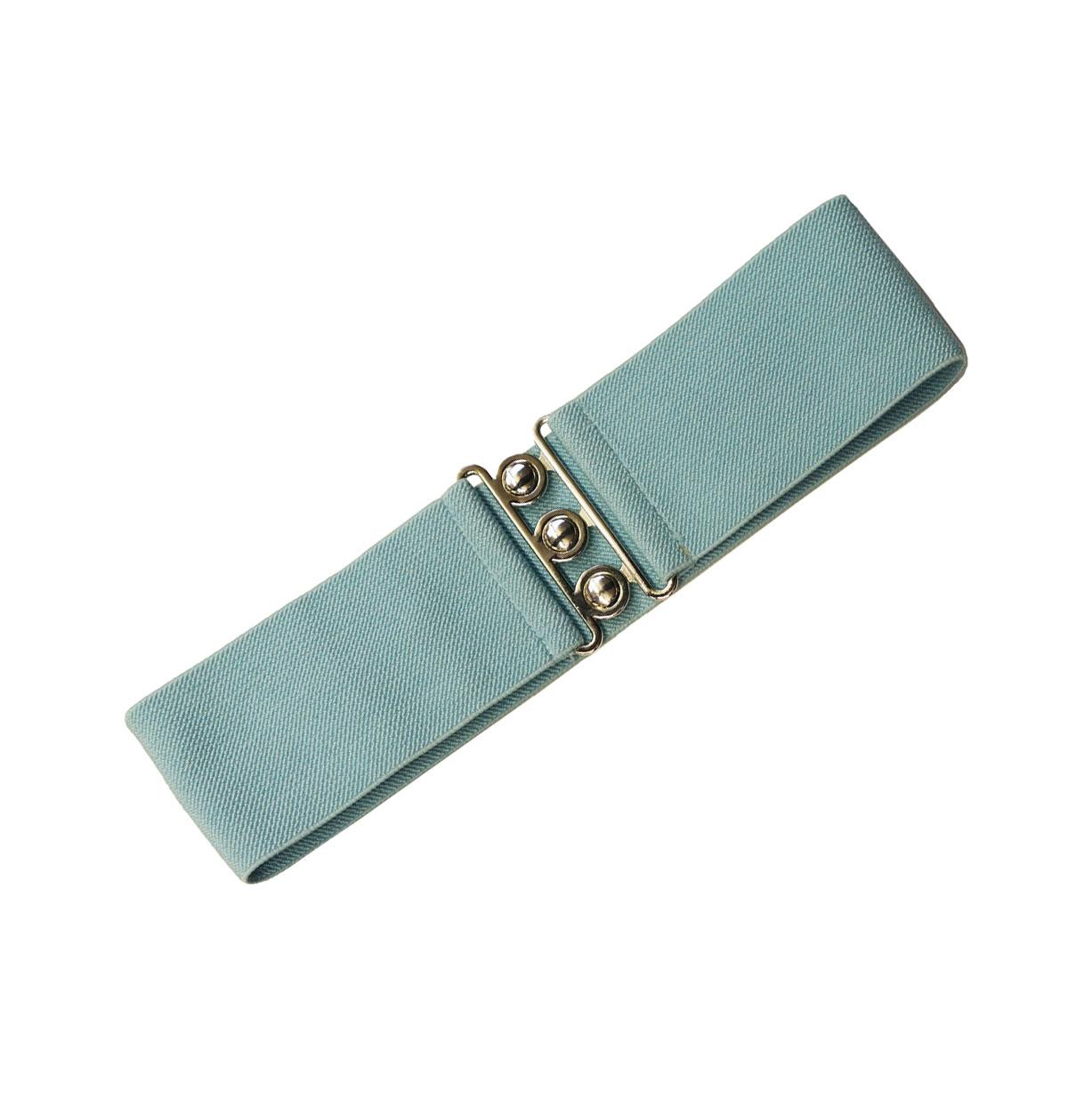 Elastic belt wide Aqua
