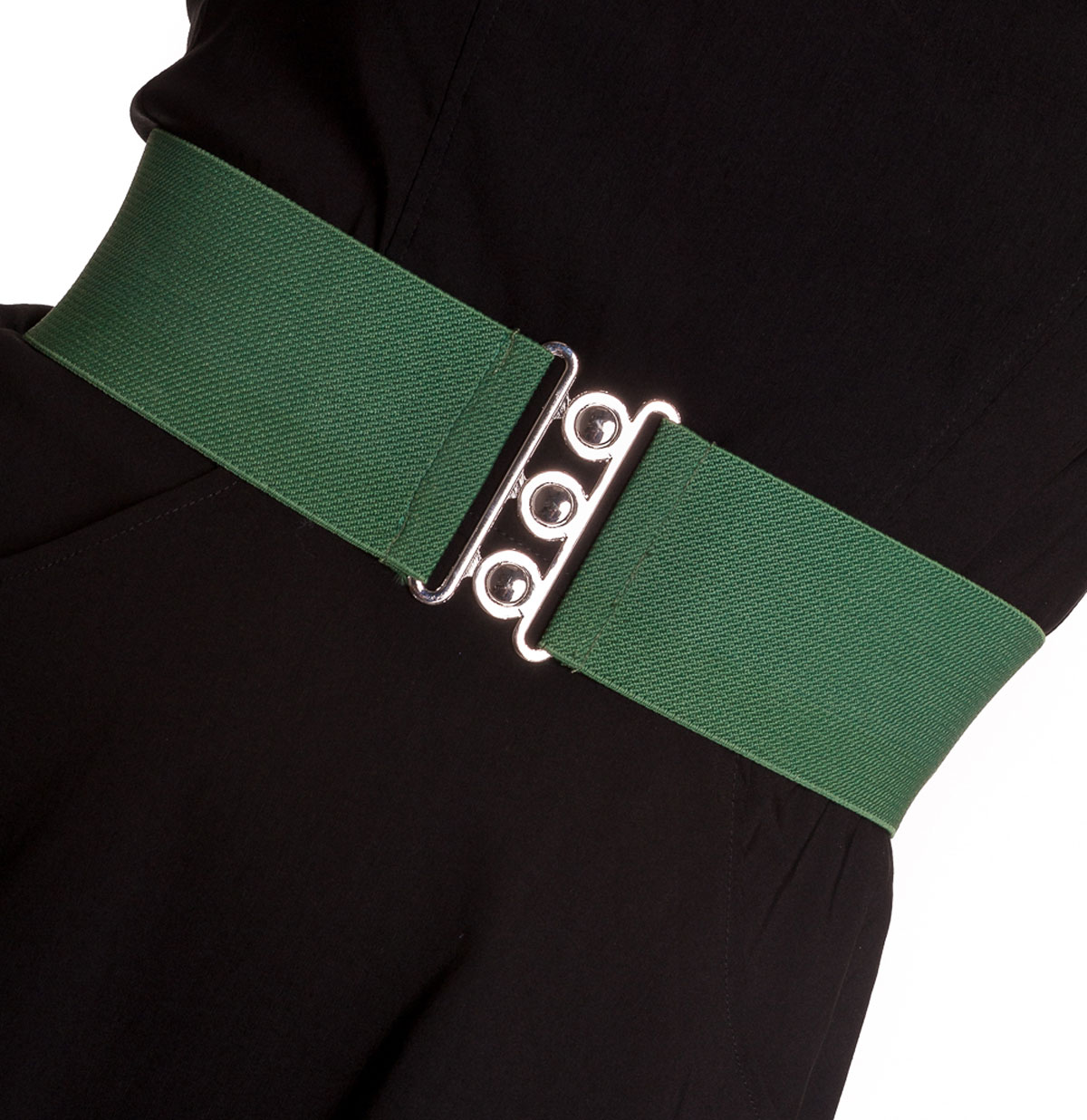 Elastic belt wide Green