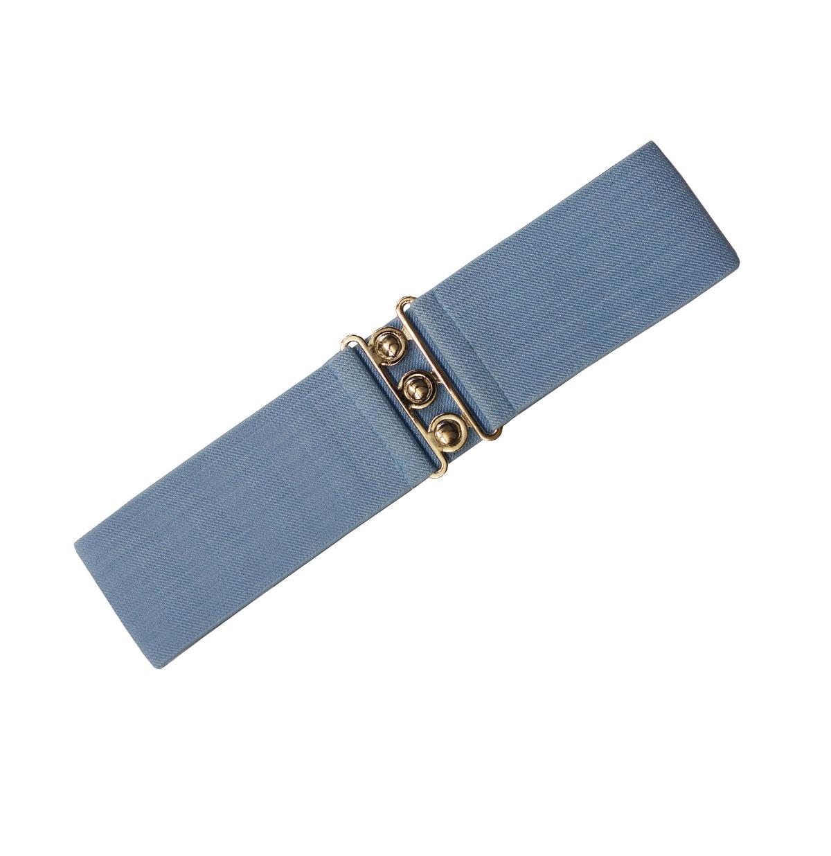 Elastic belt wide Sky Blue