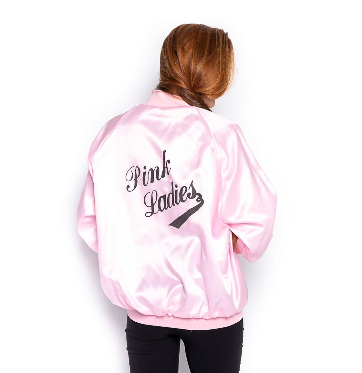 Pink Ladies Satin Jacket
