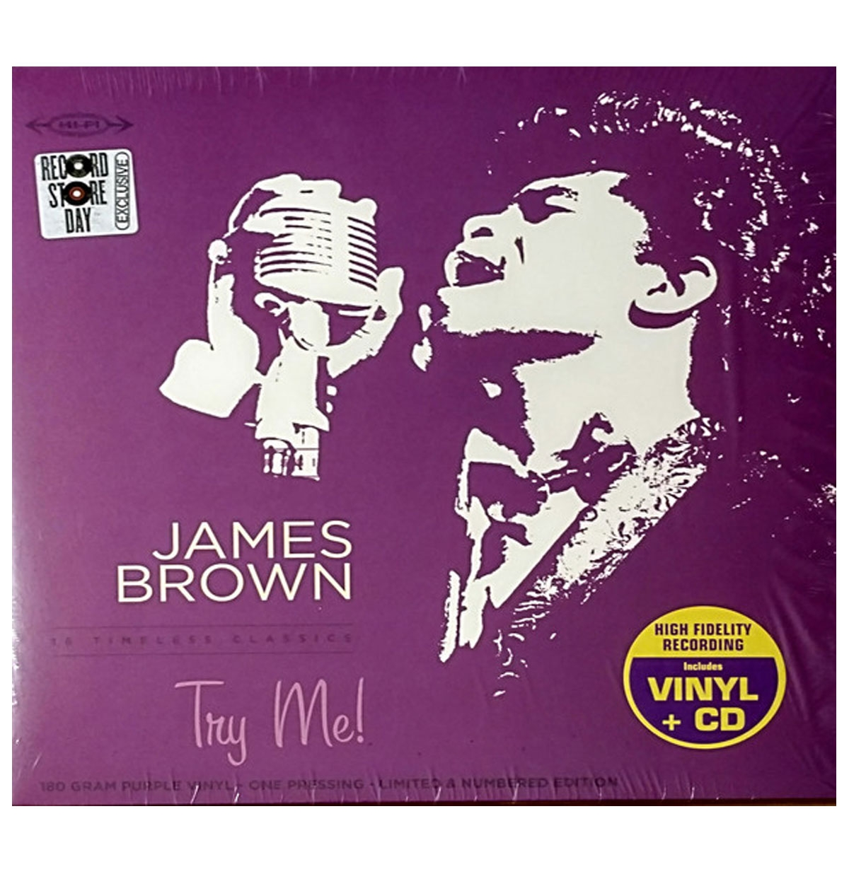 James Brown - Try Me! LP Limited Edition