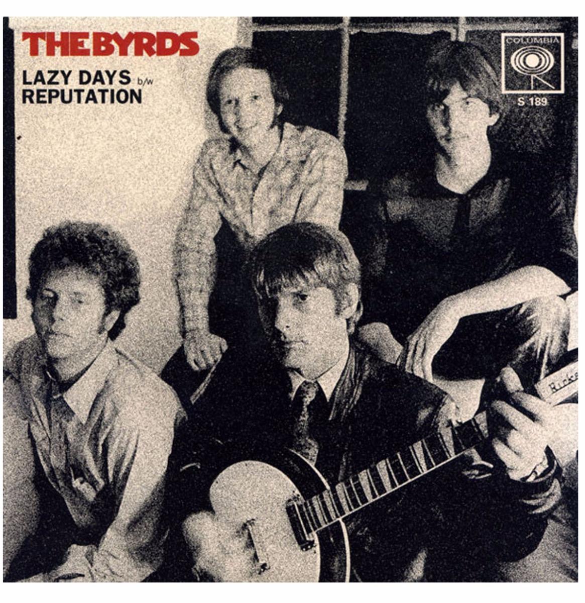 Single: Byrds, The - Lazy Days