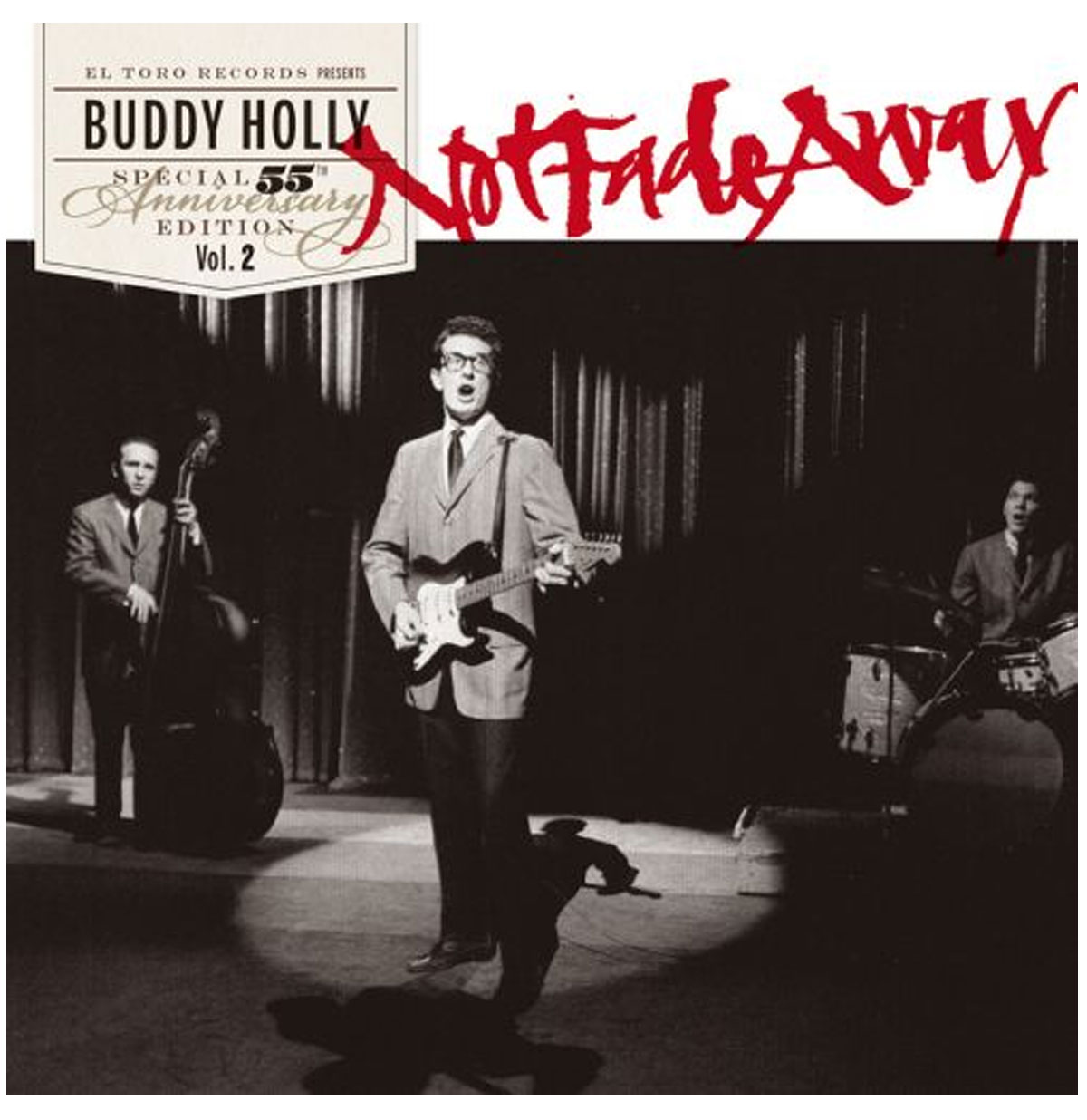 Buddy Holly - Not Fade Away Singel Speciale 55-Jarig Bestaan Editie Vol. 2 (33 r.p.m.)