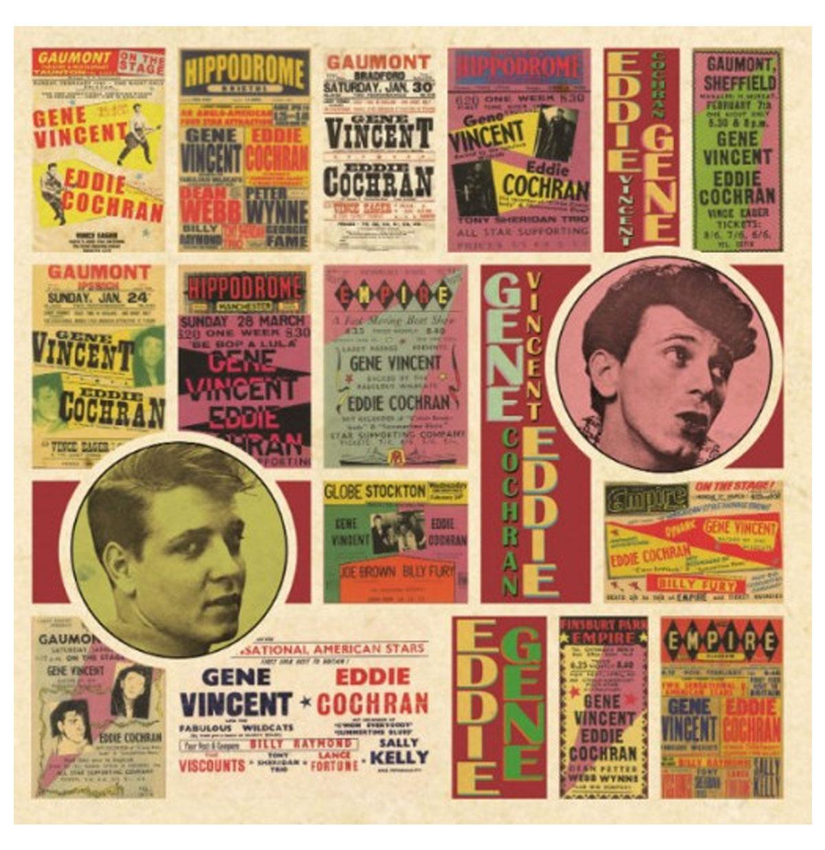 Eddie Cochran & Gene Vincent - Saturday Club LP