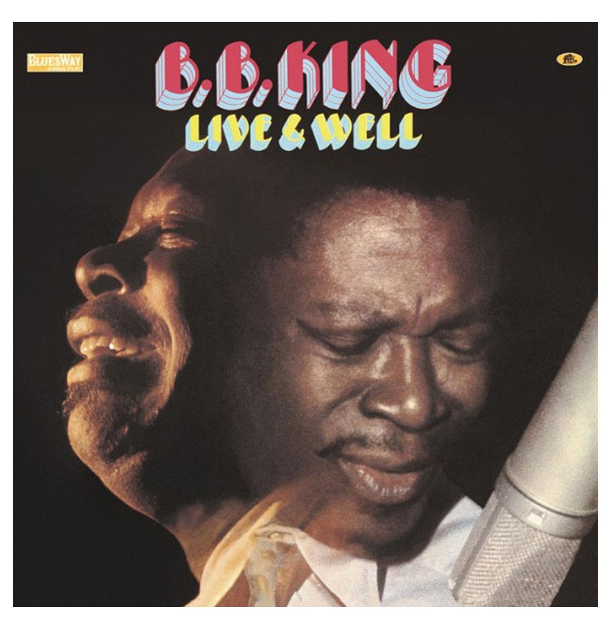 B.B. King - Live & Well LP