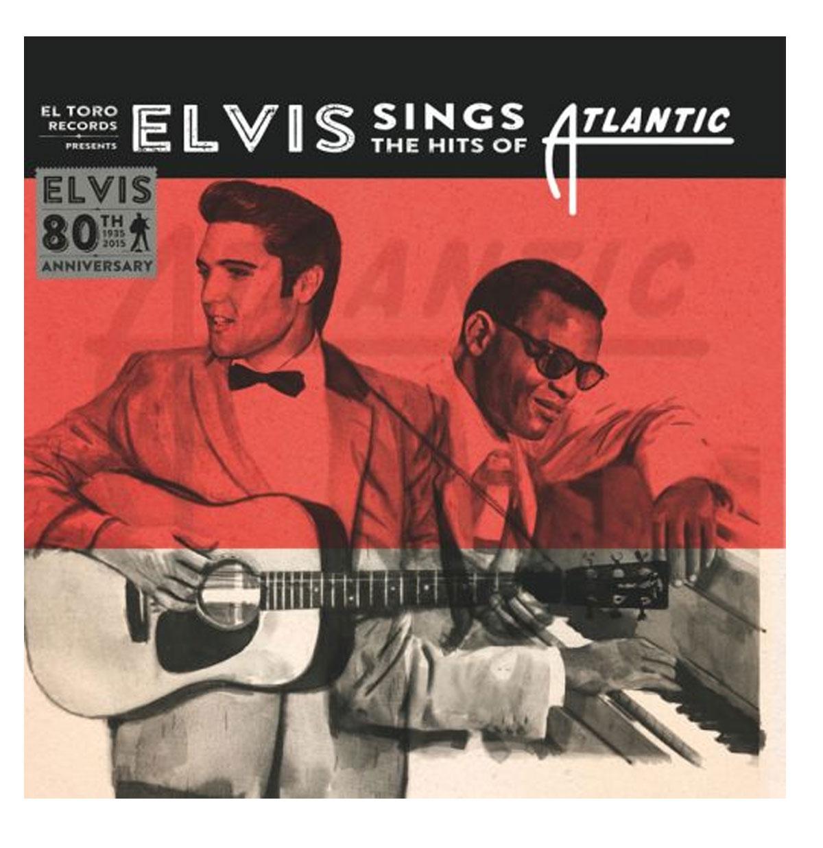 Single: Elvis Presley - Sings The Hits Of Atlantic