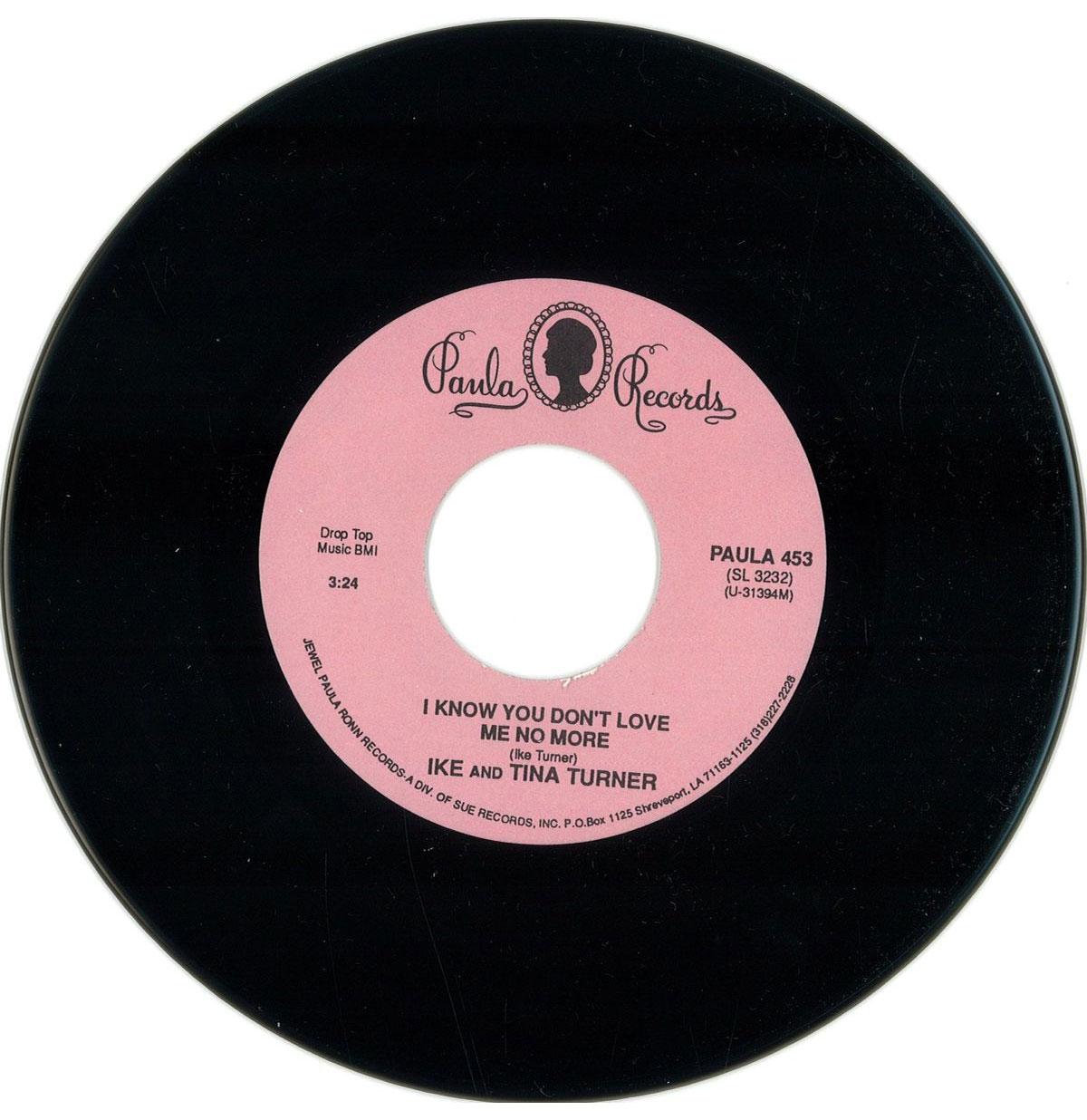 Single: Ike & Tina Turner - I Know You Don't Love Me No More