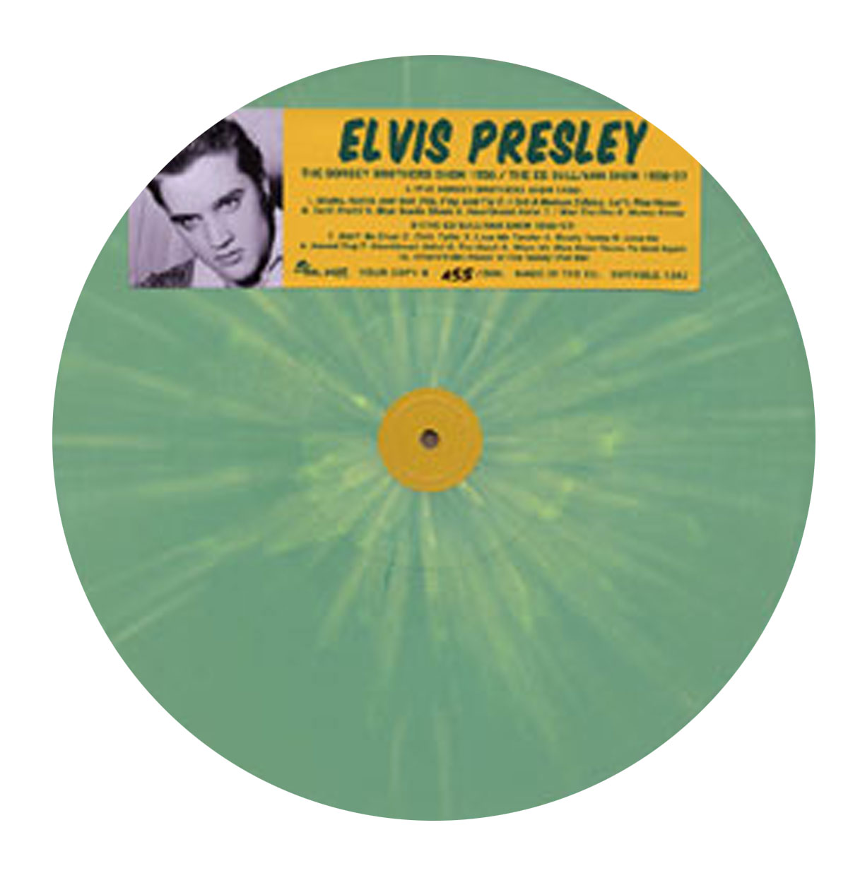Elvis Presley - The Dorsey Brothers Show 1956
