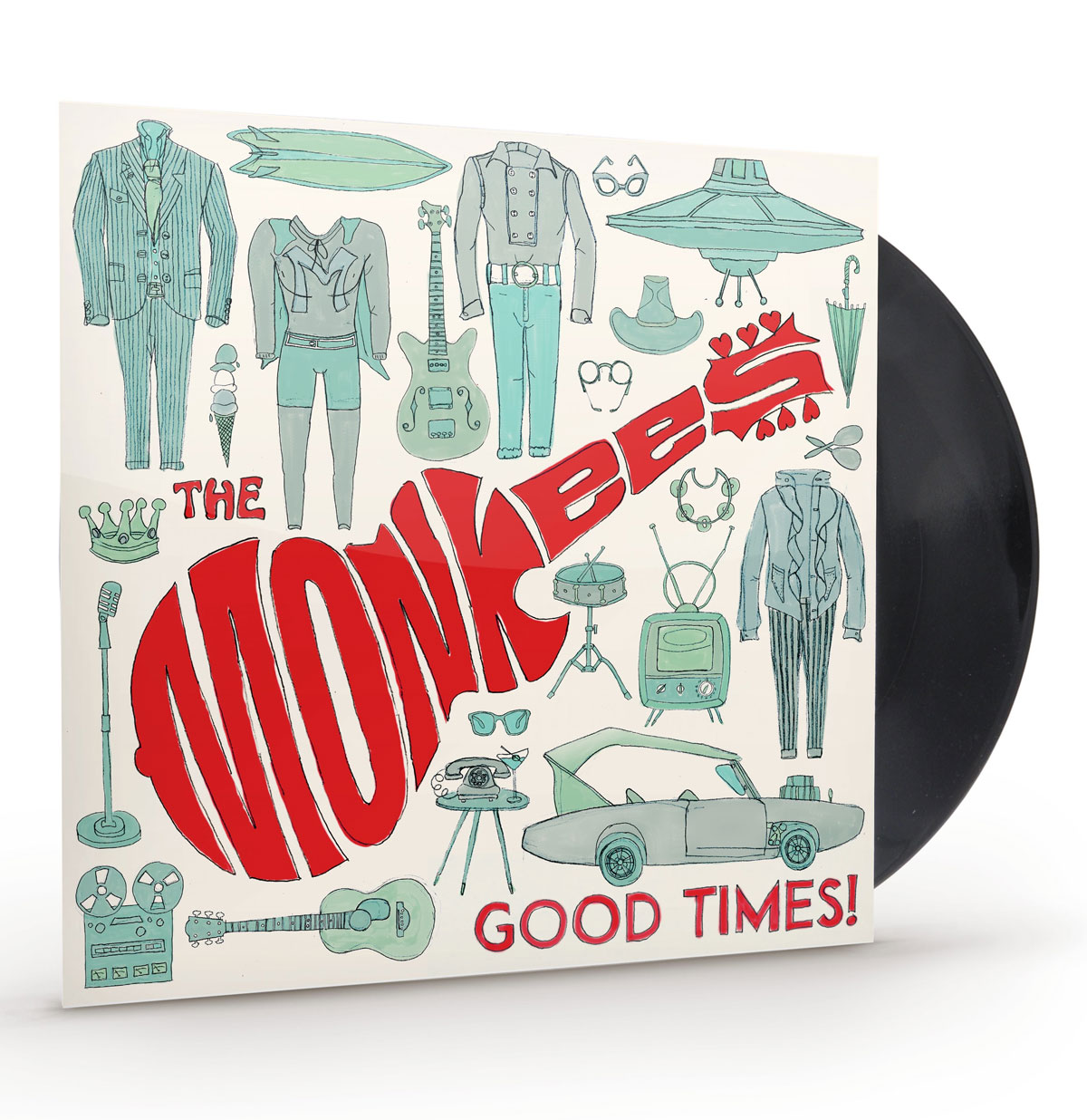 The Monkees - Good Times LP