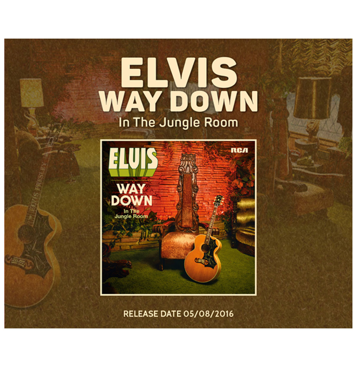 Elvis Way Down In The Jungle Room 2-LP