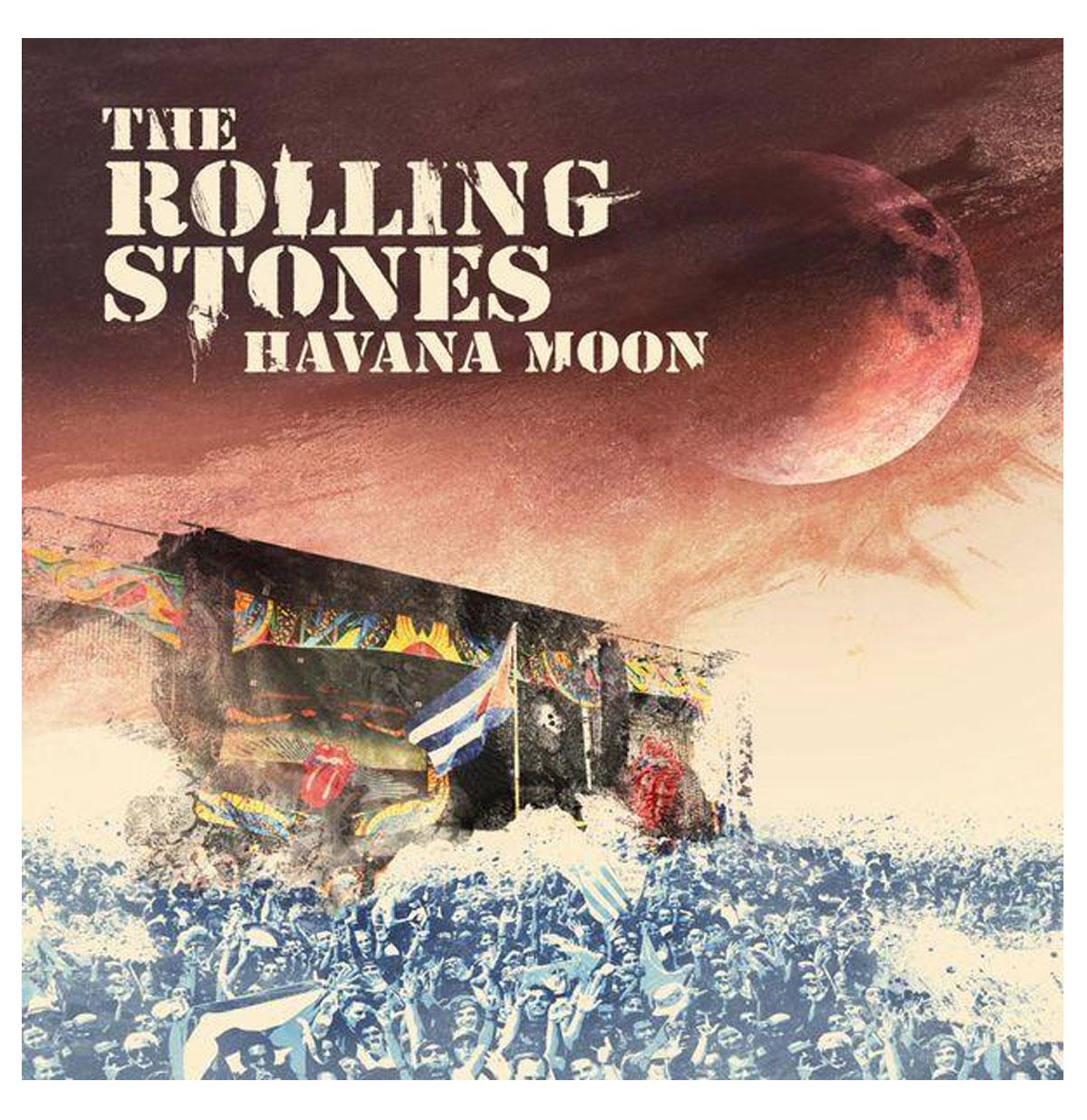 The Rolling Stones - Havana Moon 3-LP + DVD