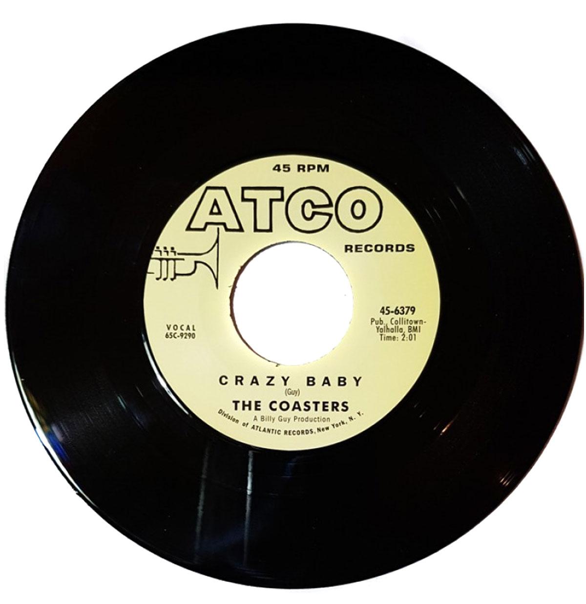 The Coasters - Crazy Baby Single
