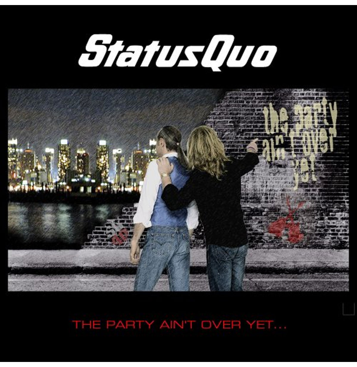 Status Quo - The Party Ain't Over Yet 2-LP
