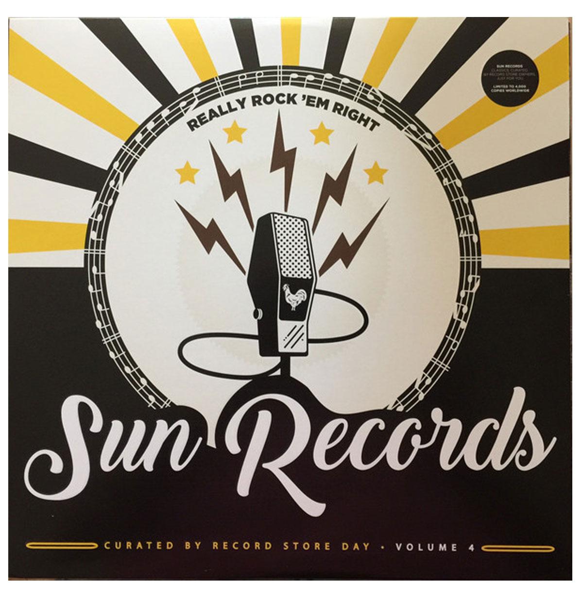 Sun Records - Really Rock 'Em Right Volume 4 LP
