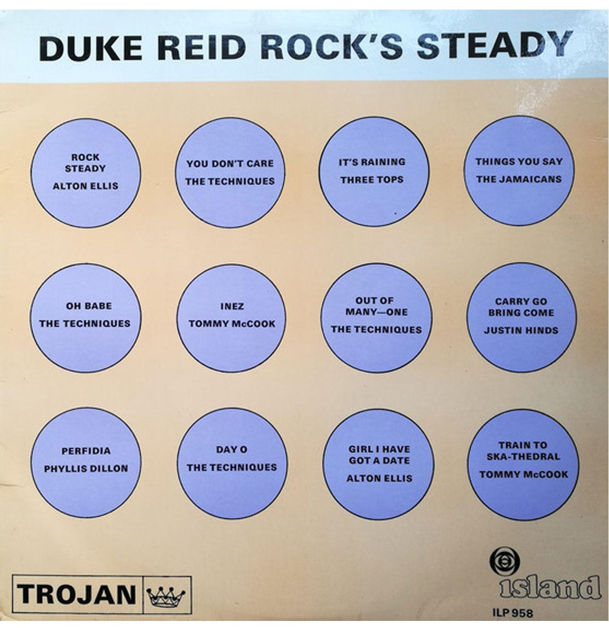 Diverse Artiesten - Duke Reid Rock's Beperkte Oplage LP