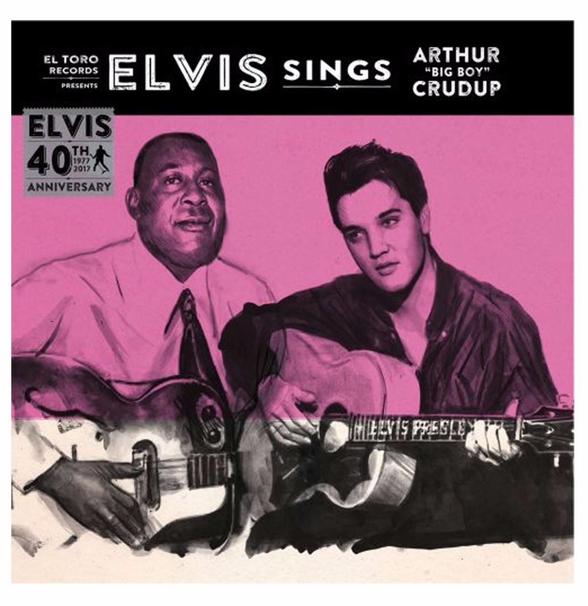 "Elvis Presley Sings Arthur ""Big Boy"" Crudup EP"